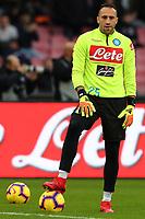 David Ospina Napoli<br /> Napoli 22-12-2018  Stadio San Paolo <br /> Football Campionato Serie A 2018/2019 <br /> Napoli - Spal<br /> Foto Cesare Purini / Insidefoto