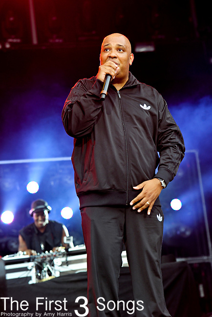 "Joseph ""Run"" Simmons of Run-DMC performs during Day 2 of the Made in America Music Fesival in Philadelphia, Pennsylvania."