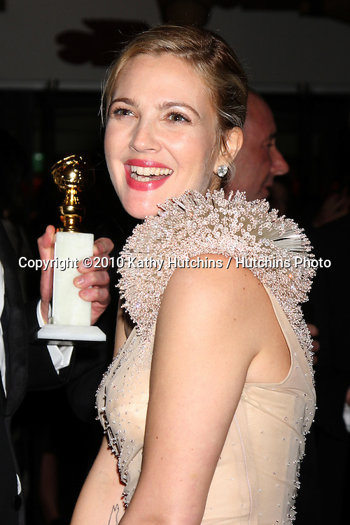 Drew Barrymore.arriving at the 67th Annual Golden Globe Awards Official HBO After Party.Beverly Hilton Hotel.Beverly Hills, CA.January 17, 2010.©2010 Kathy Hutchins / Hutchins Photo....