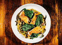 The roast chicken dish at The Way Back restaurant in Denver, Colorado, Friday, January 11, 2019. <br /> <br /> Photo by Matt Nager