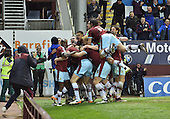 19/04/2016 Sky Bet League Championship  Burnley v Middlesbrough<br /> Michael Keane celebrates after equalising for Burnley