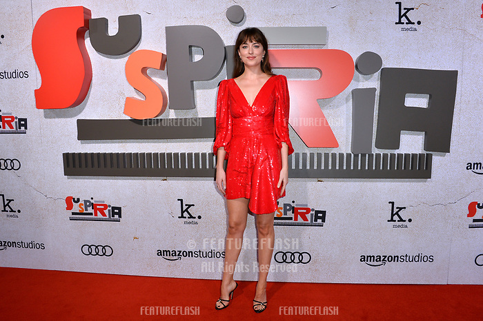 LOS ANGELES, CA. October 24, 2018: Dakota Johnson at the Los Angeles premiere for &quot;Suspiria&quot; at the Cinerama Dome.<br /> Picture: Paul Smith/Featureflash