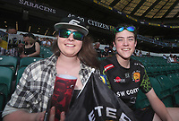 Fans pre kick off<br /> <br /> Photographer Rachel Holborn/CameraSport<br /> <br /> Aviva Premiership Final - Exeter Chiefs v Saracens - Saturday 26th May 2018 - Twickenham Stadium - London<br /> <br /> World Copyright &copy; 2018 CameraSport. All rights reserved. 43 Linden Ave. Countesthorpe. Leicester. England. LE8 5PG - Tel: +44 (0) 116 277 4147 - admin@camerasport.com - www.camerasport.com