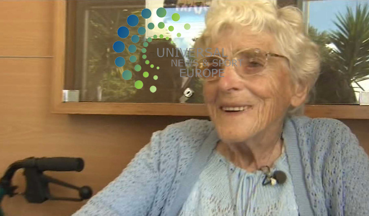 Centenarian Catherine Reddoch makes an hour-long daily trek using her zimmer to munch her way through a free cheeseburger. For more than 20 years, the canny Scot has rolled up at her local Matamata branch of McDonald's on New Zealand's North Island. And she's become a bit of a celebrity since the fast food chain erected a plaque in her honour above her favourite table , dubbed Cat 's Corner, where she holds court every lunchtime. Catherine has been making the two-hour round trip from her retirement flat since her husband Neil, who served in the Argyll and Sutherland Highlanders in World War II, died in 1989. The couple had left Scotland the year before, but Neil passed away from an injury he suffered serving his country. Now at 11am each day, Bellshill-born Catherine, known as Cat to her many friends, reaches for her walker and sets off for the town centre. And she places the same order every day - a cheeseburger with no salad or relish, and a hot chocolate.That's more than 8000 cheeseburgers and hot chocolates. Catherine said: &quot;I love my cheeseburger, just the cheese and the meat. &quot;I don't have any sauces on it, just plain. And I never have to pay for it - maybe that's why I like it.&quot;<br /> Picture: Universal News and Sport (Europe) One News  16th Feb 2011. All pictures must be credited to www.unpixs.com. (0ffice) 0844 884 51 22  <br /> (Universal News does not claim any Copyright or License in the attached material. Any downloading fee charged by Universal News and Sport is for Universal News services only. We are advised that screen images should not be used more than 48 hours after the time of original transmission, without the consent of the copyright holder) .