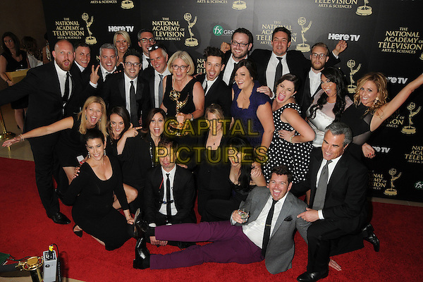 22 June 2014 - Beverly Hills, California - Mary Connelly, &quot;The Ellen DeGeneres Show&quot; Crew. 41st Annual Daytime Emmy Awards - Press Room held at The Beverly Hilton Hotel. <br /> CAP/ADM/BP<br /> &copy;Byron Purvis/AdMedia/Capital Pictures