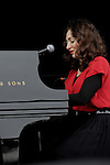 Regina Spektor performs at the Outside Lands Music & Art Festival at Golden Gate Park in San Francisco, California.