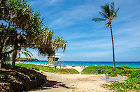 Hapuna Beach, along the Big Island of Hawai'i's Kohala Coast. This white sand beach has been rated one of the best beaches in the world time and time again.
