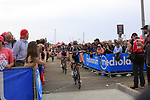 at sign on before Stage 2 of the 100th edition of the Giro d'Italia 2017, running 221km from Olbia to Tortoli, Sardinia, Italy. 6th May 2017.<br /> Picture: Ann Clarke | Cyclefile<br /> <br /> <br /> All photos usage must carry mandatory copyright credit (&copy; Cyclefile | Ann Clarke)