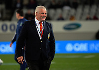 Lions head coach Warren Gatland during the 2017 DHL Lions Series rugby union match between the Blues and British & Irish Lions at Eden Park in Auckland, New Zealand on Wednesday, 7 June 2017. Photo: Dave Lintott / lintottphoto.co.nz