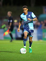 Paris Cowan-Hall of Wycombe Wanderers during the Carabao Cup match between Wycombe Wanderers and Fulham at Adams Park, High Wycombe, England on 8 August 2017. Photo by Alan  Stanford / PRiME Media Images.