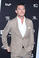 NEW YORK, NY - MAY 16: Luke Evans at Turner Upfront 2018 at Madison Square Garden in New York. May 16, 2018 Credit:/RW/MediaPunch