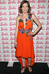 Actress Carrie Coon Attends The Barbie & CFDA Fashion Lounge VIP Event Featuring 5 CFDA Designers' one-of-a-king Looks Inspired by The Barbie Fashion Design Maker - A New Product Out for girls this fall Held in the Meat Packing District, NY