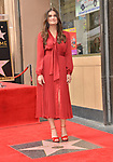 Irina Menzel -Star WofF 030 ,  Kristen Bell And Idina Menzel  Honored With Stars On The Hollywood Walk Of Fame on November 19, 2019 in Hollywood, California