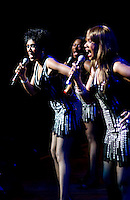 The Pointer Sisters perform with the Dallas Symphony Orchestra at the Meyerson Symphony Center at 8:58PM in Dallas, Texas, Friday, April 18, 2008. The Pointer Sisters, originally from oakland, California,  are a Grammy Award winning R&B group.  ..MATT NAGER/SPECIAL CONTRIBUTER