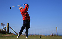 Neil James during Round Two of the West of England Championship 2016, at Royal North Devon Golf Club, Westward Ho!, Devon  23/04/2016. Picture: Golffile | David Lloyd<br /> <br /> All photos usage must carry mandatory copyright credit (&copy; Golffile | David Lloyd)