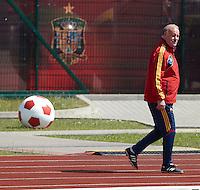 EURO 2012 - POLAND - Gniewino - 13 JUNE 2012 - Spain National Team official MD-1 training. Spain Natioanl Team coach Vicente del Bosque.