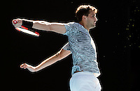 GRIGOR DIMITROV (BUL)<br /> <br /> TENNIS , AUSTRALIAN OPEN,  MELBOURNE PARK, MELBOURNE, VICTORIA, AUSTRALIA, GRAND SLAM, HARD COURT, OUTDOOR, ITF, ATP, WTA<br /> <br /> &copy; TENNIS PHOTO NETWORK