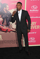 "14 June 2017 - Los Angeles, California - Jamie Foxx. Los Angeles Premiere of ""Baby Driver"" held at the Ace Hotel Downtown in Los Angeles. Photo Credit: Birdie Thompson/AdMedia"