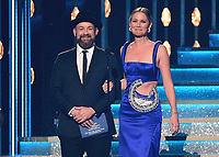 NASHVILLE, TN - NOVEMBER 8:  Sugarland at the 51st Annual CMA Awards at the Bridgetone Arena on November 8, 2017 iin Nashville, Tennessee. (Photo by Scott Kirkland/PictureGroup)
