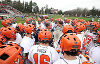 University of Virginia men's lacrosse team led by head coach Dom Starcia (pictured) has released a statement saying they will play out the rest of the season Tuesday May 4, 2010 in Charlottesville, VA.  George Huguely, 22, a fourth-year student from Chevy Chase, Md., has been charged with first-degree murder in the death of UVa women's lacrosse player Yeardley Love, 22, a fourth-year student from Cockeysville, Md., that took place early Monday morning May 3, 2010 in Charlottesville, Va. Photo/Andrew Shurtleff
