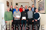 Beaufort Golf Club Fundraiser last Friday pictured are front l-r Tom Dwane (2nd place), Daniel Cronin (1st place), Denis Nash (1st place), Shane O'Sullivan (3rd place) and Michael Barry (3rd place), back l-r Michael Lynch (captain), Pat O'Sullivan (4th place), Catherine Murphy (5th place), Pat Tangney (4th place) and Joe Scally (The Malton Hotel- Main Sponsor).