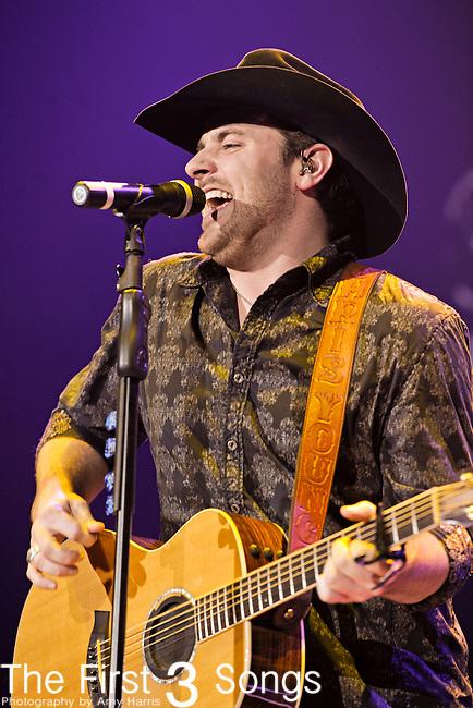 CHRIS YOUNG performs at Rupp Arena in Lexington, Kentucky on January 27, 2011.