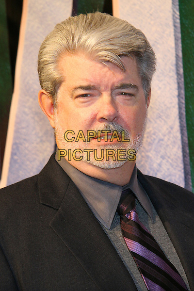 "GEORGE LUCAS.World premiere of ""King Kong"", New York, NY.  .Photo: Jackson Lee/Admedia.Ref: JL/ADM.December 5th, 2005.headshot portrait beard facial hair.www.capitalpictures.com.sales@capitalpictures.com.© Capital Pictures."