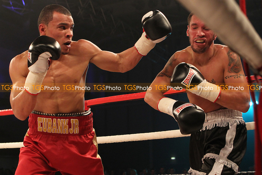 Chris Eubank Jr vs Olegs Fedotovs in a boxing contest at the Bonus Arena, Hull promoted by Hennessy Sports - 08/12/11 - MANDATORY CREDIT: Chris Royle/TGSPHOTO - Self billing applies where appropriate - 0845 094 6026 - contact@tgsphoto.co.uk - NO UNPAID USE..