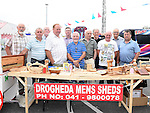 Representatives from Mens Sheds at the Community Fund Launch held at Tesco car park.Photo:Colin Bell/pressphotos.ie