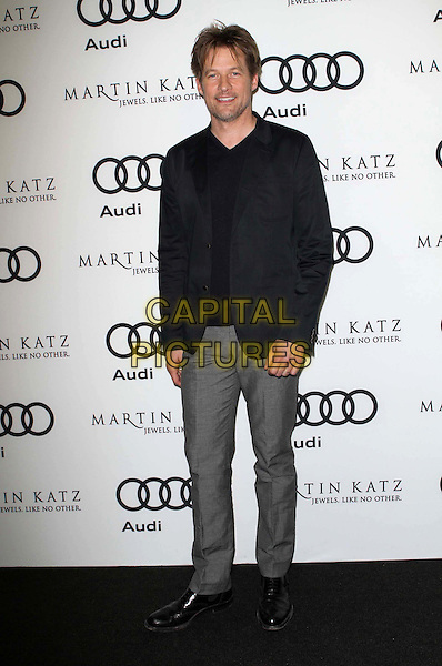 James Tupper.Audi And Martin Katz Kick Off Golden Globes Week 2012 Held At Cecconi's Restaurant, West Hollywood, California, USA..January 8th, 2012.full length grey gray trousers black jacket.CAP/ADM/KB.©Kevan Brooks/AdMedia/Capital Pictures.