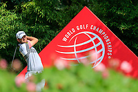 Bernd Wiesberger (AUT) on the 2nd tee during the 3rd round of the WGC HSBC Champions, Sheshan Golf Club, Shanghai, China. 02/11/2019.<br /> Picture Fran Caffrey / Golffile.ie<br /> <br /> All photo usage must carry mandatory copyright credit (© Golffile | Fran Caffrey)