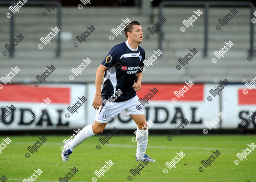 2012-08-25 / Voetbal / seizoen 2012-2013 /  KSK Heist / Jimmy Fockaert..Foto: Mpics.be