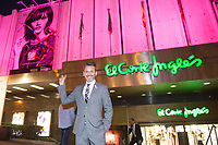 Jorge Lucas<br /> Corte Ingles Superstore lights with pink the Serrano superstore joins with the AECC, Spanish Association against Cancer. In Madrid on October 10, 2017.