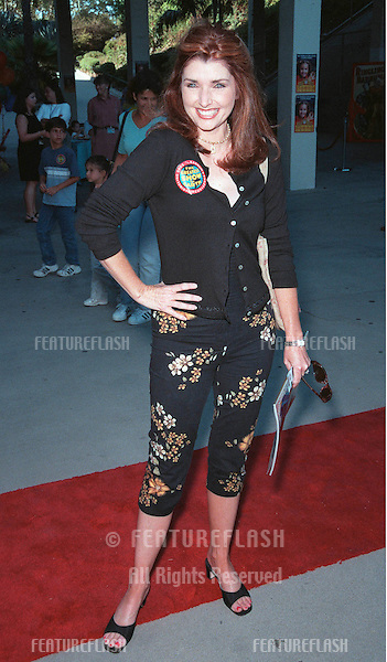 21JUL99: Actress MORGAN BRITTANY at the Los Angeles opening night of Ringling Bros and Barnum & Bailey Circus. The evening was to benefit the Cystic Fibrosis Foundation..© Paul Smith / Featureflash