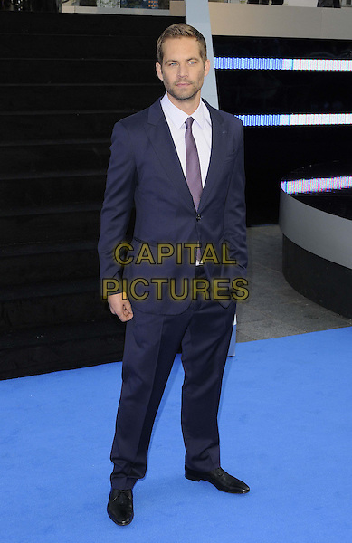 Paul Walker.'Fast & Furious 6' world premiere, Empire cinema, Leicester Square, London, England 7th May 2013.CAP/CAN.©Can Nguyen/Capital Pictures