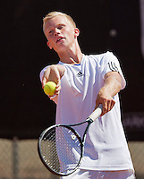 August 9, 2014, Netherlands, Rotterdam, TV Victoria, Tennis, National Junior Championships, NJK, Stephan Gerritsen  (NED)<br /> Photo: Tennisimages/Henk Koster