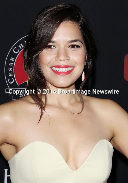 Pictured: America Ferrera <br /> Mandatory Credit &copy; Frederick Taylor/Broadimage<br /> Premiere Of Pantelion Films And Participant Media's &quot;Cesar Chavez&quot; - Arrivals<br /> <br /> 3/20/14, Hollywood, California, United States of America<br /> <br /> Broadimage Newswire<br /> Los Angeles 1+  (310) 301-1027<br /> New York      1+  (646) 827-9134<br /> sales@broadimage.com<br /> http://www.broadimage.com