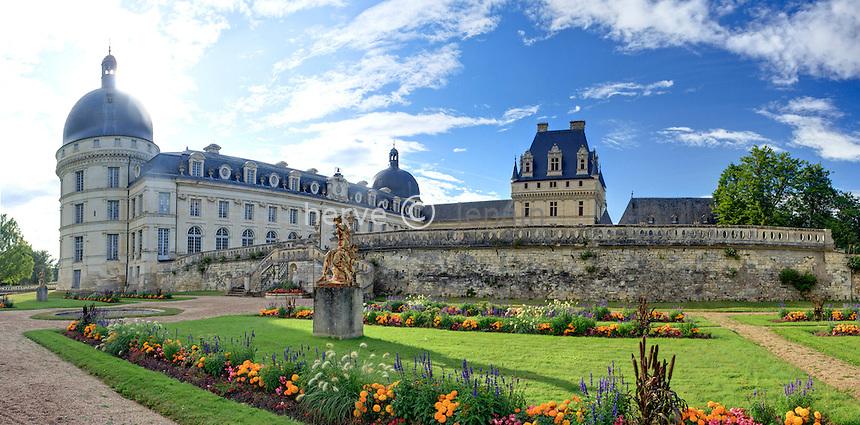 France, Indre (36), Valençay, le château // France, Indre, Valençay, the castle,