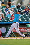 1 March 2019: Miami Marlins infielder Neil Walker in action during a Spring Training game against the Washington Nationals at Roger Dean Stadium in Jupiter, Florida. The Nationals defeated the Marlins 5-4 in Grapefruit League play. Mandatory Credit: Ed Wolfstein Photo *** RAW (NEF) Image File Available ***