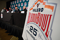 Stanford Football Alamo Bowl, December 24, 2017