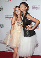 UNIVERSAL CITY, CA - JULY 22: Bella Thorne and Zendaya at the 2012 Staples For Students 'Party' For A Cause hosted by Staples, DoSomething.org and Bella Thorne at the Globe Theatre at Universal Studios on July 22, 2012 in Universal City, California © mpi21/MediaPunch Inc. /NortePhoto.com*<br />