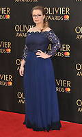 Carrie Hope Fletcher at the Olivier Awards 2018, Royal Albert Hall, Kensington Gore, London, England, UK, on Sunday 08 April 2018.<br /> CAP/CAN<br /> &copy;CAN/Capital Pictures<br /> CAP/CAN<br /> &copy;CAN/Capital Pictures