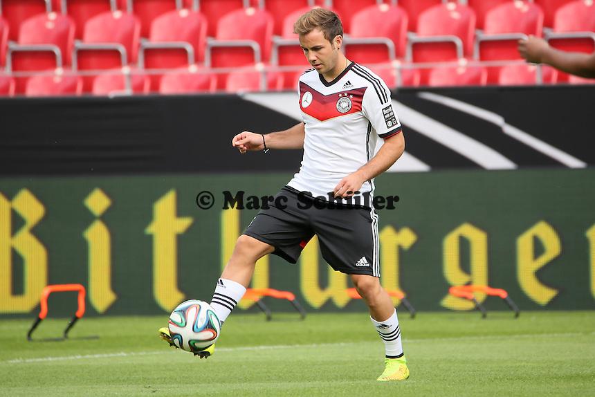 MArio Götze (D) - Abschusstraining Nationalmannschaft in Mainz