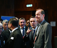 Picture by Simon Wilkinson/SWpix.com - 28/09/2018 Cycling 2018 UCI Road World Championships, Innsbruck-Tirol, Austria - UCI Congress at Innsbruck - David Lappartient UCI President and Christian Prudhomme of ASO