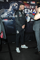 Tony Bellew is pictured at the Undercard and Main Event press conference for Saturday May 5th's boxing at the 02 arena in London. May 3, 2018. Credit: Matrix/MediaPunch ***FOR USA ONLY***<br /><br />REF: TST 181389
