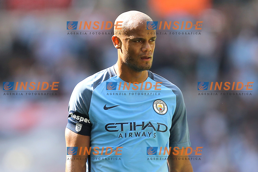 Vincent Kompany of Manchester City <br /> London 23/04/2017 <br /> Arsenal vs Manchester City - FA Cup Semi Final <br /> Foto Darren Staples/PHCImages / Panoramic/Insidefoto <br /> ITALY ONLY