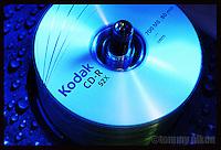 Mock ad of Kodak brand CDs