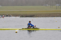 072 ReadingRC J17A.1x..Marlow Regatta Committee Thames Valley Trial Head. 1900m at Dorney Lake/Eton College Rowing Centre, Dorney, Buckinghamshire. Sunday 29 January 2012. Run over three divisions.