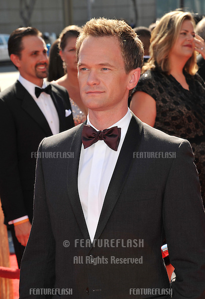 Neil Patrick Harris at the 2012 Primetime Creative Emmy Awards at the Nokia Theatre, LA Live..September 15, 2012  Los Angeles, CA.Picture: Paul Smith / Featureflash