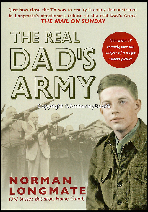 BNPS.co.uk (01202 558833)<br /> Pic: AmberleyBooks/BNPS<br /> <br /> The front cover of the book..<br /> <br /> A new book about the overzealous, trigger-happy capers of the Home Guard reveals just how close to reality the much-loved TV sitcom Dad's Army really was.<br /> <br /> Author Norman Longmate has compiled some of the most farcical tales of life in the wartime volunteer service, including a hedgehog mistaken for a paratrooper and a private who melted his boots.<br /> <br /> The book, The Real Dad's Army, is being published as the popular comedy series gets a big screen reboot with star names including Bill Nighy, Catherine Zeta-Jones and Michael Gambon.